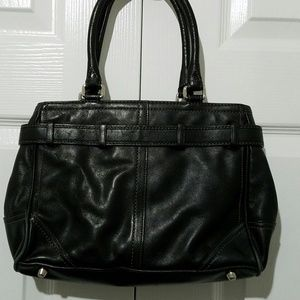 Coach Bags - Coach Hampton Handbag Purse Satchel Black G0793